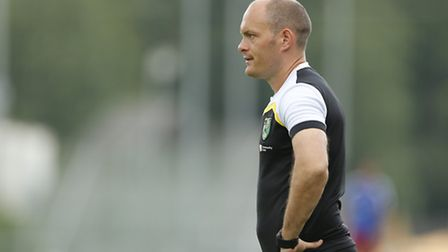 Norwich City manager Alex Neil during pre-season in Austria. Picture: EXPA Pictures/Focus Images