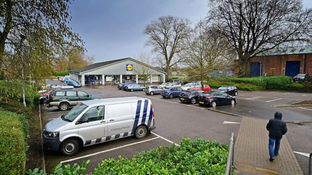The current Lidl store on Aylsham Road, Norwich.Picture: ANTONY KELLY