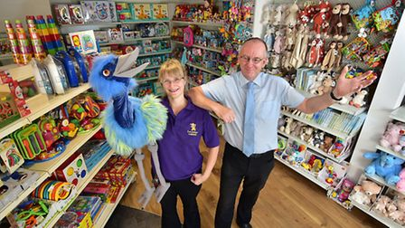 Little Langleys toy shop will be opening soon. Shop manager Chris Goulding and supervisor Kate Aldou