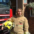 Crew manager Leesa Espley, from Heacham fire station. Picture: Chris Wood