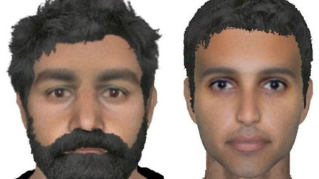 Have you seen these men? Police release E-fits of RAF Marham suspects. Picture Norfolk Police