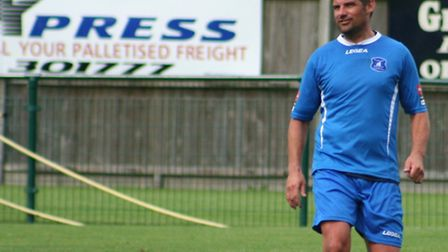Damian Hilton will be back in the dugout as Wroxham look to start a FA Cup adventure. Picture: WROXH