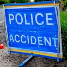 A tractor has hit a railway bridge in Crownthorpe.