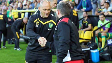 Norwich City manager Alex Neil was full of praise for Ryan Bennett and Timm Klose against Bristol Ci