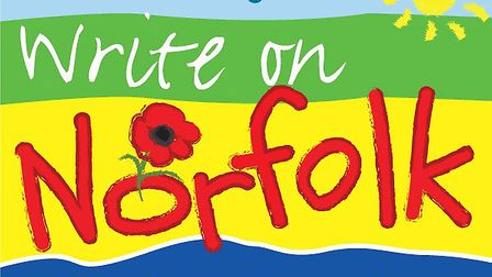 Logo for the Write on Norfolk competition