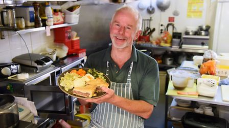 Laurent Zahorosko, owner of The People's Palace Café at Suffolk Square. Picture: DENISE BRADLEY