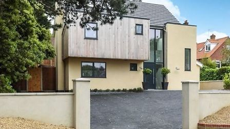 Eco-friendly homes: Five bedroom home in Sheringham. Photo: Sowerbys