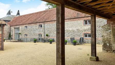 Eco-friendly houses: Two bedroom barn conversion, Letheringsett. Photo: Sowerbys