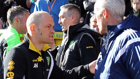 Alex Neil and Mick McCarthy go head-to-head again on Sunday. Picture: Paul Chesterton/Focus Images L