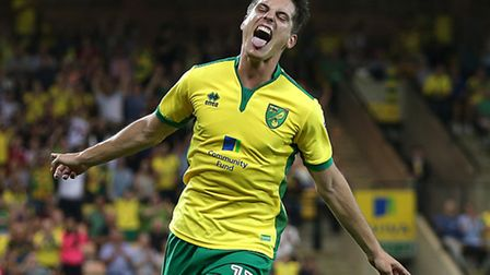 Sergi Canos is set to play for Norwich City U23s at Carrow Road tonight. Picture by Paul Chesterton/