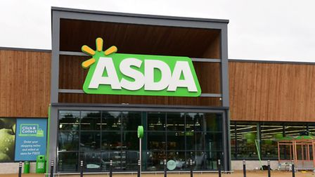 The new ASDA store on Hall Road, Norwich all ready to receive its first customers. Photo : Steve Ada