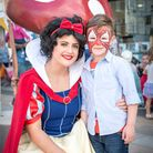 Fairytales and Legends in King's Lynn - Archie Foreman with Snow White_Picture.Paul Tibbs