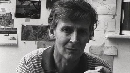 Michael Andrews. Picture by Hary Diamond/National Portrait Gallery, London