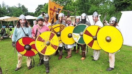 The Ordgar Anglo Saxon renactment group.