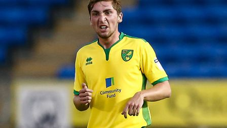 Ray Grant is set to start for Norwich City U23s against Everton U23s at Carrow Road tonight. Picture