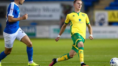 Norwich City midfielder James Maddison has completed a loan move to Aberdeen. Picture by Andy Kearns