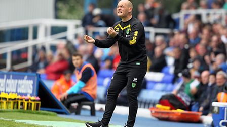Norwich City manager Alex Neil was unable to land another forward on transfer deadline day. Picture