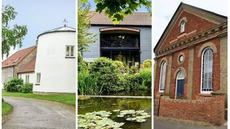 Unique Conversions: 4 Upper Mill, Lenwade Mill and The Hills.
