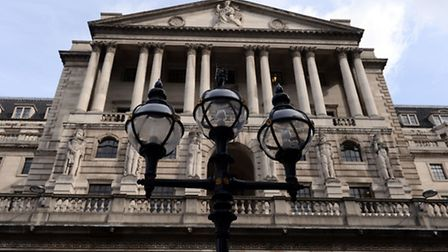 The Bank of England. Picture: Stefan Rousseau/PA Wire