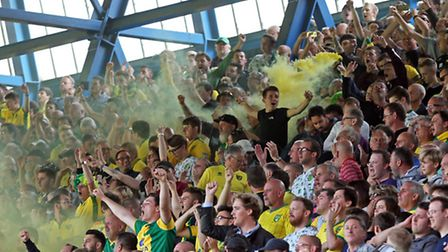 Norwich City fans have not been on the losing end of an East Anglian derby since 2009. Picture by Pa