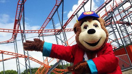 Woody Bear with Marble Madness – a new ride for July, 2014 at Pleasurewood Hills. Picture: SUPPLIED.