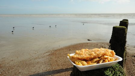 Fish and Chips by the sea. Photo: Miles Davies