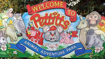 The broadland village of Reedham on the River Yare in Norfolk.Pettitts Animal Adventure Park.Picture