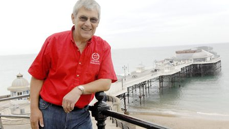 Pictured is Cromer Carnival Chairman, Tony Shipp. Photo: Colin Finch