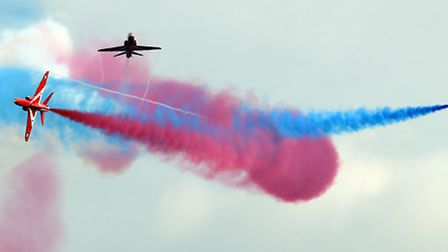 The Red Arrows will be performing at Cromer Carnival. Photo: Chris Radburn/PA Wire