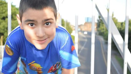 Lucas Pontes, eight, who died on July 30, 2016.