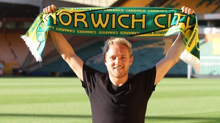 Norwich City new boy Alex Pritchard has completed a move from Premier League Tottenham. Picture: Nor