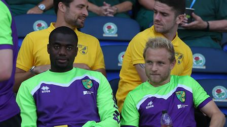 Russell Martin and Robbie Brady are back in contention for Norwich City. Picture by Paul Chesterton/