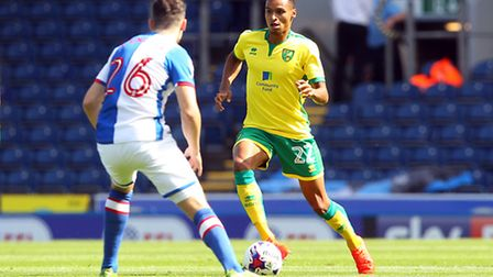 Norwich City's Jacob Murphy, who scored in the 4-1 victory over Blackburn Rovers in the Canaries' op