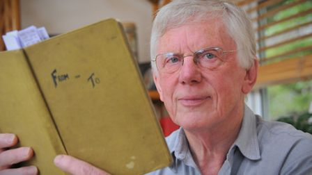 Peter Kimpton, who was contacted by his half brother Chris Kimpton, who was conceived in 1945 while