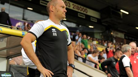 Norwich City manager Alex Neil during the pre-season match with Coventry at Carrow Road. Picture by