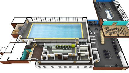 The first images of a revamped Phoenix pool have been revealed, whetting the public appetite for wha