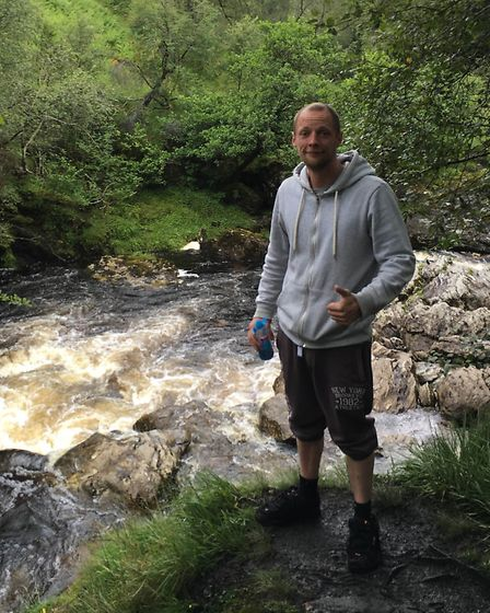 Two men from Thetford helped to save four girls who had got into difficultues in a Scottish loch. An