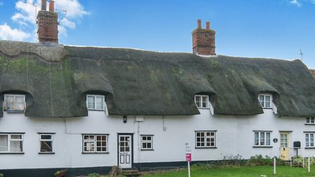 Ripe for renovation: Three bedroom end-terrace house, The Street, South Lopham. Photo: William H. Br