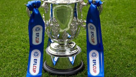 The EFL Cup. Picture: @EFLCup on Twitter