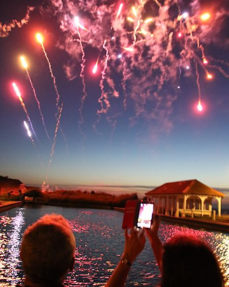 Sheringham Carnival finished with a bang