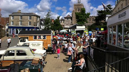 The Diss Heritage Transport Fayre.
