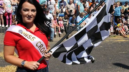 Action from Cromer Carnival soapbox derby. For the official photographs, pick up a copy of the North