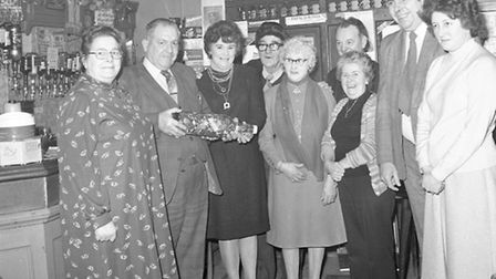Taken at The Nelson pub, on Mundesley Road - which no longer exists - at a fundraising event in 1982