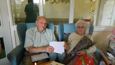 Nancy and James Tate celebrate seventy years of marriage