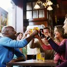 Drinkers will be allowed back indoors in pubs.