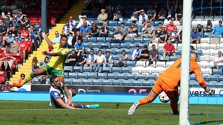 Jacob Murphy made his mark for Norwich City at Blackburn. Picture by Paul Chesterton/Focus Images Lt