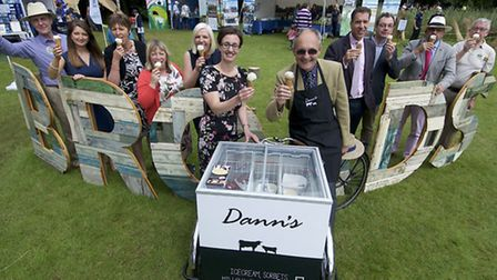 The first day of the Royal Norfolk Show 2016 sponsors of the EDP Tourism awards. Picture: MARK BULLI