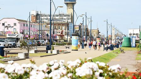 The Golden Mile in Great Yarmouth on a warm and sunny afternoon.Picture: James Bass
