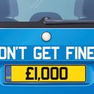 It's easier and quicker than you think to avoid getting a number plate fine