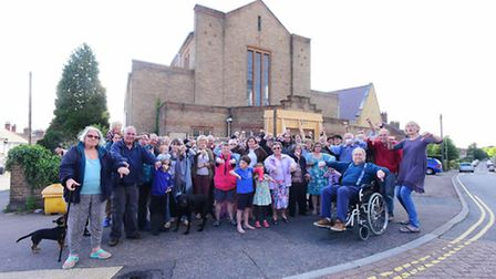 Local residents who are furious about plans drawn up by developers to redevelop St Peter's Methodist